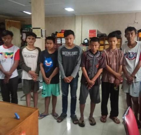 Tujuh Remaja Pemancing Tawuran di Tambun Rengas Ditangkap