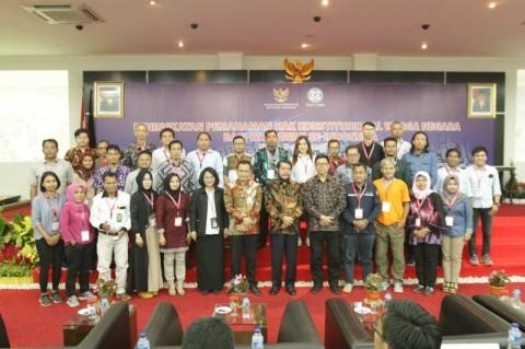 MK Beri Pembekalan 113 Wartawan se-Indonesia