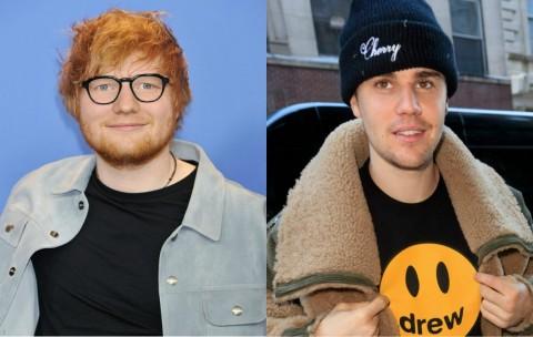 Justin Bieber Beri Sinyal Kolaborasi dengan Ed Sheeran