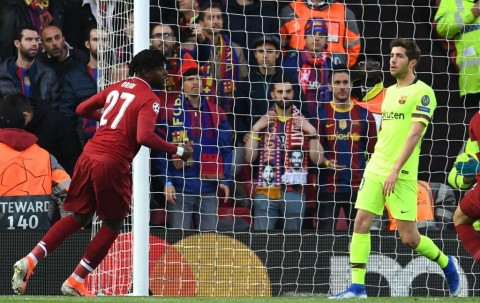 Gol Cepat Origi Berikan Keunggulan untuk Liverpool