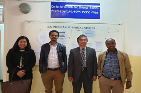 Universitas Addis Ababa Ingin Bermitra dengan Indonesia