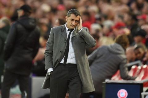 Barcelona Dibantai dengan 4 Gol Bukan Salah Valverde