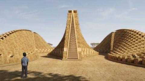 Bangunan Sekolah di Malawi Terbuat dari Jerami