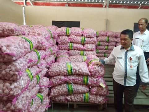 Harga Bawang Putih di Semarang Kembali Normal