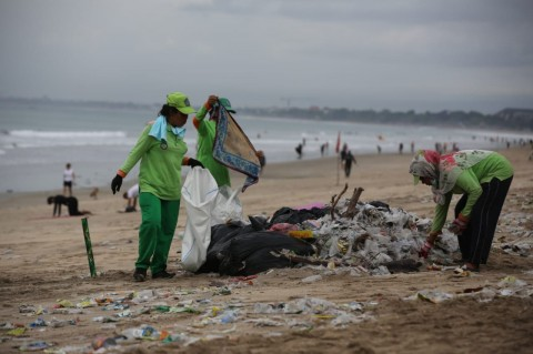 Menkeu Ajak Jajarannya Kurangi Penggunaan Plastik