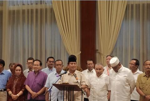 Prabowo Imbau Semua Pihak Tak Emosional