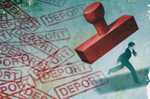 Tasikmalaya Deportasi 4 WNA Tiongkok