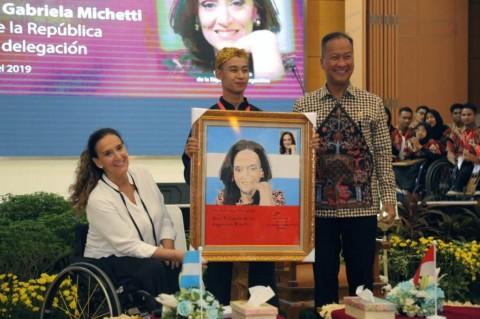 Mensos Pamerkan Sukses Pemerintah Penuhi Hak Penyandang Disabilitas