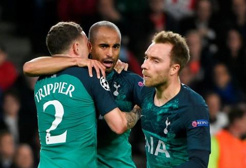 Spurs ke Final Liga Champions, Eriksen Minta Dibuatkan Patung Lucas Moura