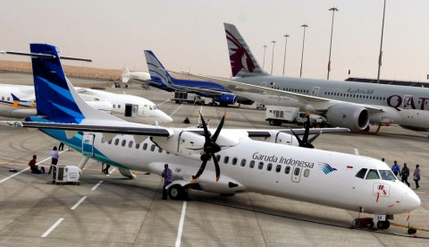 Garuda Ingin Jadi Pelopor Digital <i>Airlines</i> Tanah Air