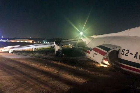 11 Terluka Setelah Pesawat Tergelincir di Bandara Yangon