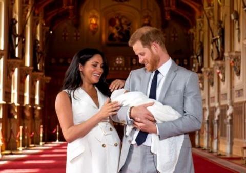 Pangeran Harry dan Meghan Markle Umumkan Nama Si Kecil