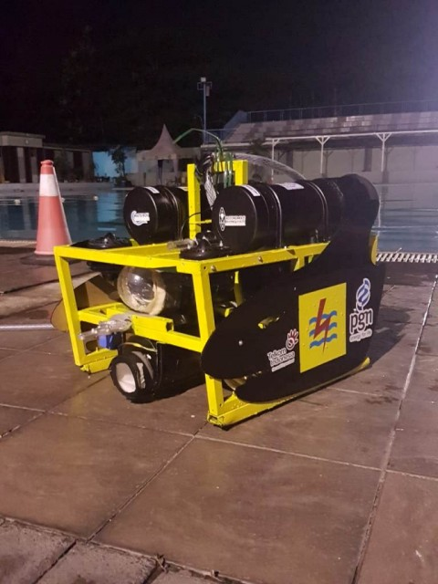 Robot Bawah Laut Mahasiswa UI Lolos ke Amerika