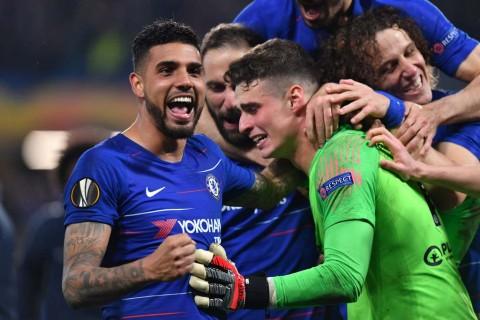 Menang Adu Penalti atas Frankfurt, Chelsea Jumpa Arsenal di Final