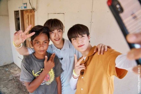 Jaemin dan Jeno NCT Dream Berbagi Mimpi  di Bantargebang