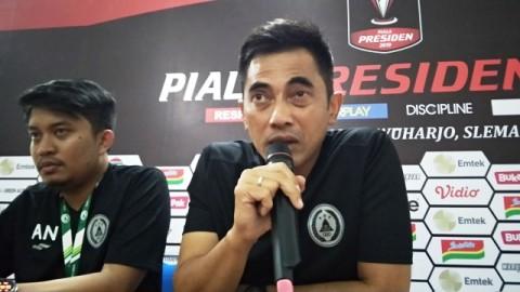 Pelatih PSS Sleman Seto Nurdiyantoro Siap Dicopot