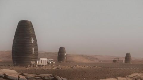 Seperti Apa Bentuk Rumah di Mars?