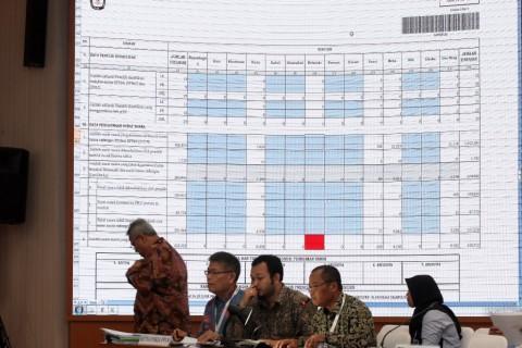 KPU DKI Jakarta Tunda Pleno Rekapitulasi Suara