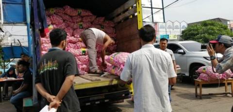 Harga Kebutuhan Pokok di Pasar Anyar Tangerang Kembali Normal