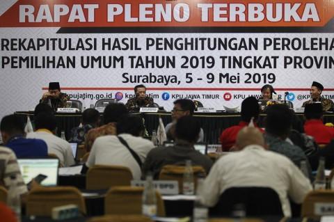 Jokowi-Ma'ruf Raih 65,79 Persen Suara di Jatim