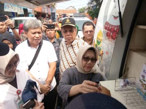 BPOM Temukan Zat Pewarna pada Bahan Makanan di Pasar Serpong