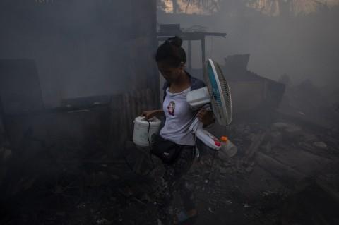 Kebakaran di Kampung Bandan 3.500 Orang Kehilangan Rumah