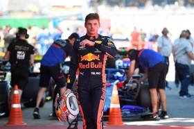 Meski Start Keempat, Verstappen Semringah Bisa Saingi Ferrari