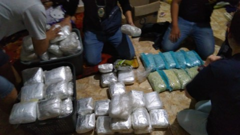 Ratusan Kilogram Narkoba di Bekasi Didatangkan dari Riau