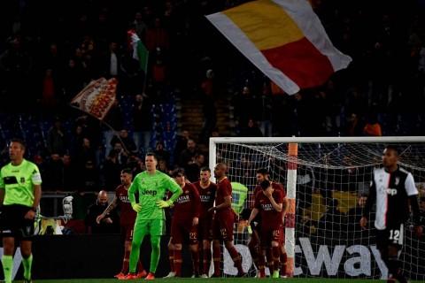 Roma Bikin Juventus Merana