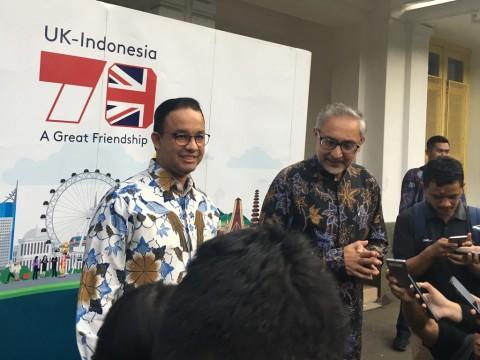 Anies Harap Kerja Sama Pendidikan Indonesia-Inggris Menguat