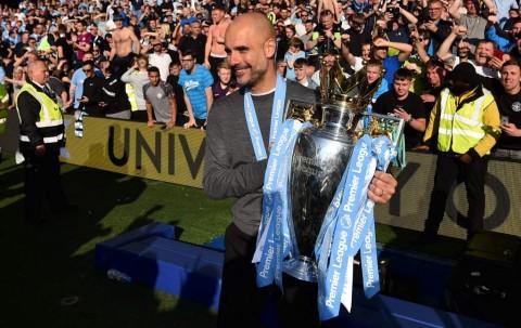 City Juara Liga Inggris, Guardiola Berambisi Pecahkan Sejarah