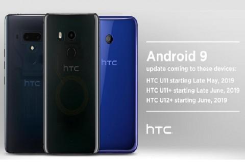HTC Ungkap Android 9 Pie di Tiga Ponsel