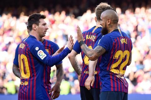 Barcelona Tekuk Getafe 2-0