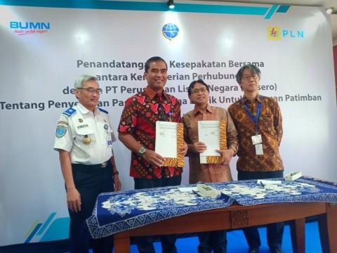 PLN Pasok Listrik untuk Pelabuhan Patimban