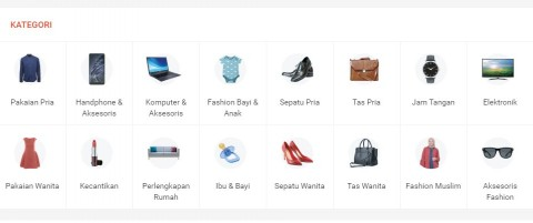 Penggunaan THR untuk Belanja <i>E-Commerce</i> Naik 8%