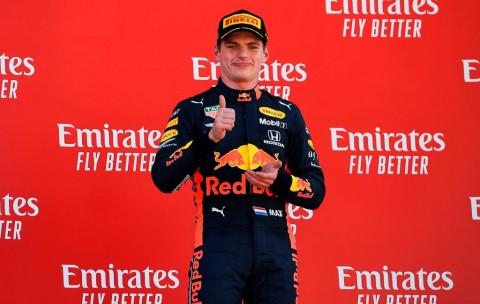 Verstappen: Marcedes Terlalu Cepat!