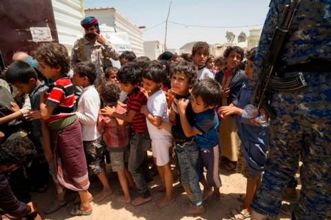 Seorang Anak Tewas Tiap 12 Menit Akibat Perang Yaman