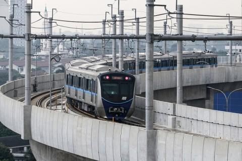 Tarif MRT Jakarta Kembali Normal
