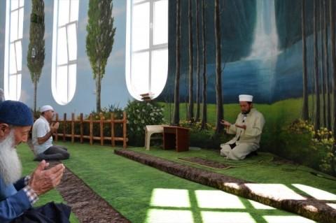Sejuknya Hamidiye Camii, Masjid Bernuansa Alam