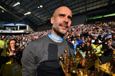 Pep Guardiola Terpilih sebagai Pelatih Terbaik Liga Inggris