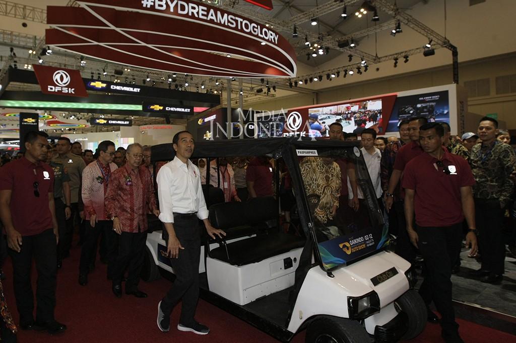 Rencananya GIIAS 2019 ini akan berlangsung para 18-28 Juli 2019 di di ICE, BSD City, Tangerang Selatan - Banten. MI/Ramdani