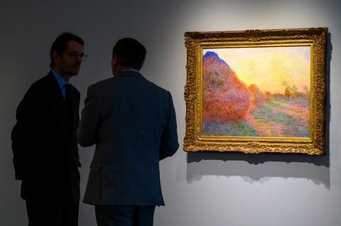 Lukisan Jerami Karya Monet Terjual Rp1,5 Triliun