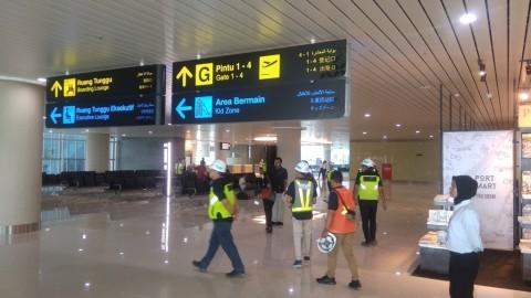 Damri Siapkan 12 Kendaraan Angkut Pemudik di Bandara YIA