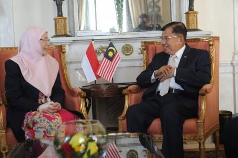 Wapres Bahas Minyak Sawit dengan Wakil PM Malaysia
