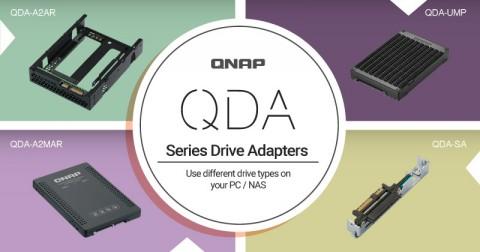 QNAP Dukung Adapter QDA Series