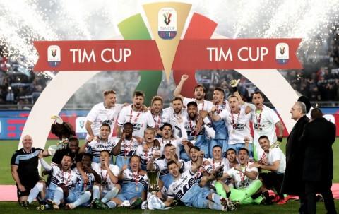 Tundukkan Atalanta, Lazio Juara Coppa Italia 2018--2019