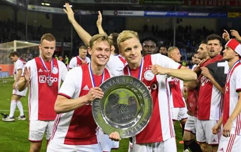 Ajax Sabet Gelar Liga Belanda 2018--2019