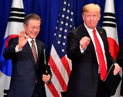 Trump dan Presiden Korsel Segera Bahas Denuklirisasi Korut
