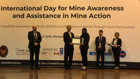 Karya Ilmiah Antar Eka Hafsari Raih Dua Penghargaan ASEAN