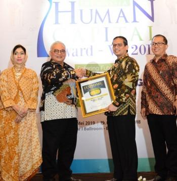 BPJS Ketenagakerjaan Raih Penghargaan Indonesia Human Capital Award